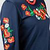 """Платье-вышиванка """"Маки №4"""" (с длинным рукавом), фото 4"""