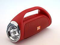 НОВИНКА! JBL Boombox JND-890 копия, блютуз колонка с фонариком FM MP3, красная | AG320391