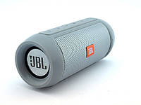 НОВИНКА! JBL Charge 2+ E2 10W (2*5W) копия, блютуз колонка c FM и MP3, серая | AG320393