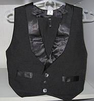 Костюм для мальчика (желетка+брюки) р.116-140 см