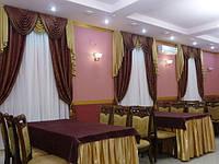 Пошив штор и столового текстиля для ресторанов и кафе