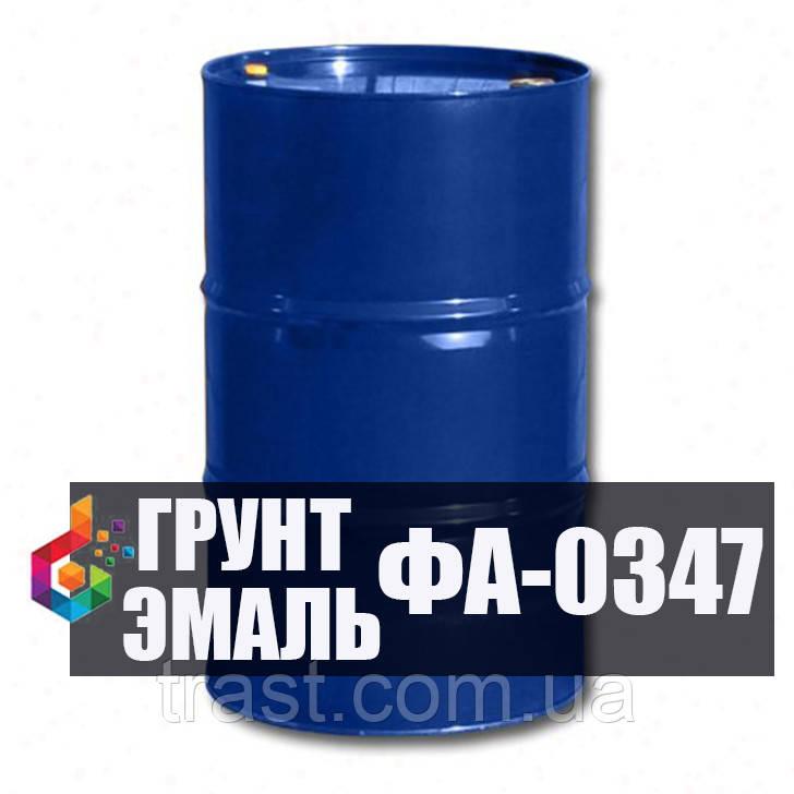 Грунт-эмаль ФА-0347 для защиты металлоконструкций, транспортных средств, сельхозоборудования