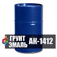 Грунт-эмаль АК-1412 для металлоконструкций эксплуатируемых в условиях промышленной атмосферы