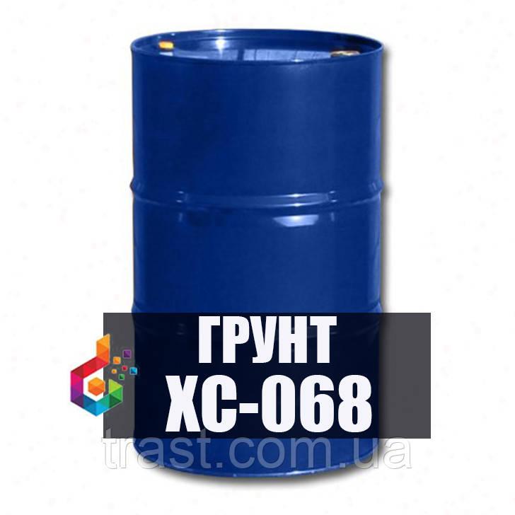 Грунт ХС-068 для защиты металлоконструкций и оборудования химстойкая