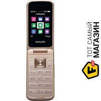 Philips Xenium E255 Black мобильный телефон для работы, недорогие раскладушка wap, gprs - черный