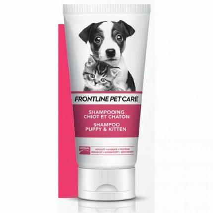 Шампунь Boehringer Ingelheim Frontline Pet Care Для Котят И Щенков, 200 Мл, фото 2