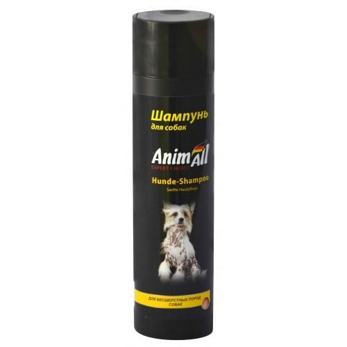 Шампунь Animall Для Собак Бесшерстных Пород, 250 Мл