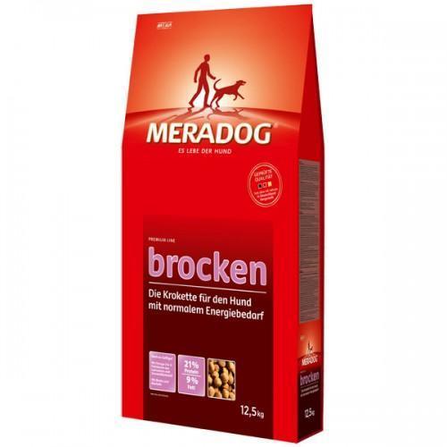 Mera Dog Brocken Классический Корм Для Собак С Нормальной Активностью, 12.5 Кг