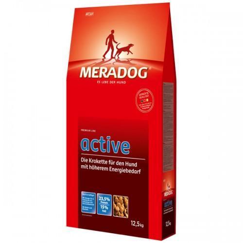 Mera Dog Active Классический Корм Для Активных Собак, 12.5 Кг