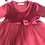 Пышное платье на девочку Breeze 190. Размер 98 см, 104 см, 134 см, фото 2