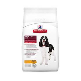 Сухой корм Hills Science Plan Canine Adult Advanced Fitness Medium для собак средних пород, с курицей, с курицей, 12 кг