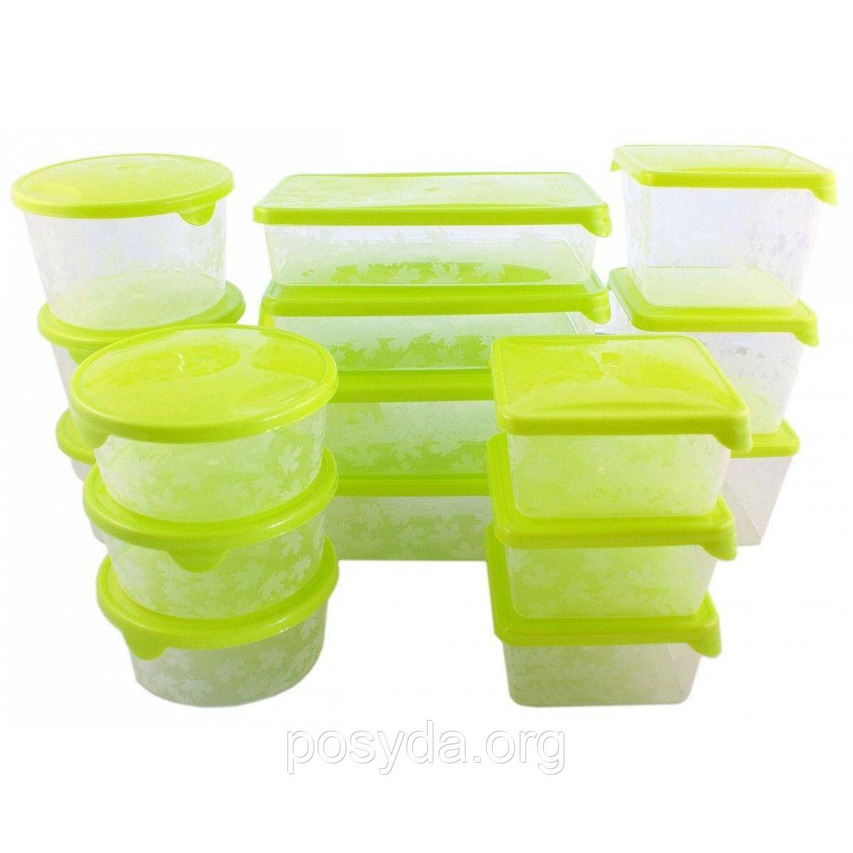 Набор емкостей для хранения и заморозки BranQ PK-1149   17 шт