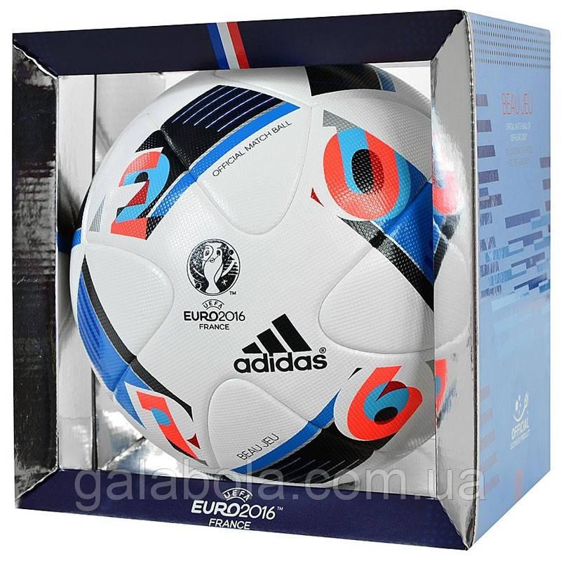 Мяч футбольный Adidas Beau Jeu EURO16 OMB AC5415 (размер 5)