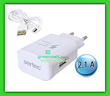 Зарядка Sertec ST 1060 25W 2.1A