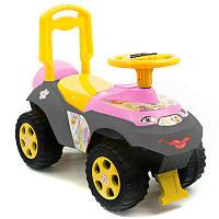 Іграшка дитяча для катання Машинка музична 0142/07RU