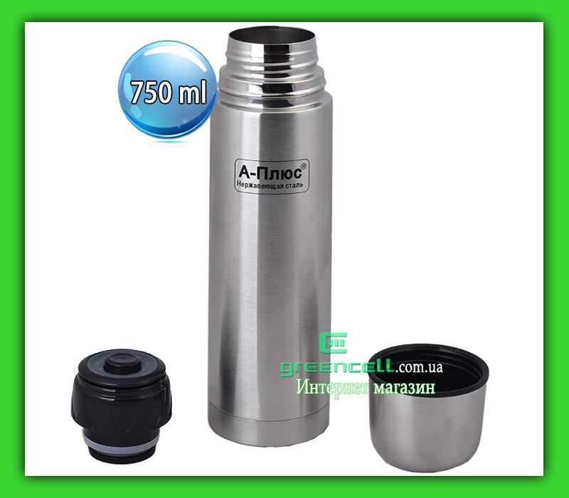 Термос A-PLUS FL 1753 750 ml с чехлом