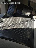 Коврики в салон Volkswagen Touareg 2003-2010 4шт. (Полиуретан)