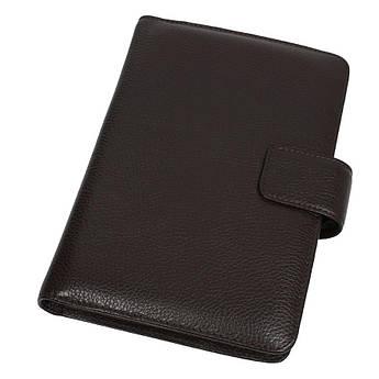 Чоловіча шкіряна обкладинка для щоденника Canpellini 551 brown