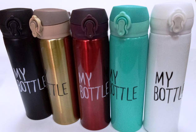"""Термос """"My Bottle"""" стальной 500 мл, фото 2"""
