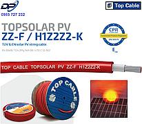 Кабель для солнечных станций TOPSOLAR PV ZZ-F H1Z2Z2-K 1x6 мм