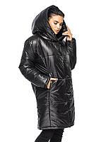 Удлиненная женская зимняя куртка от производителя
