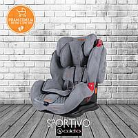COLETTO SPORTIVO 2019 автокресло группы 1-2-3 (9-36 kg) Grey Серый
