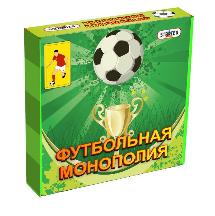 Настольная игра Футбольная Монополия 00716 Strateg
