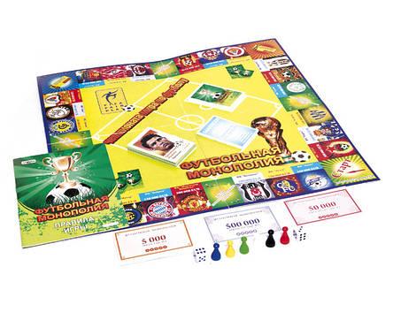 Настольная игра Футбольная Монополия 00716 Strateg, фото 2