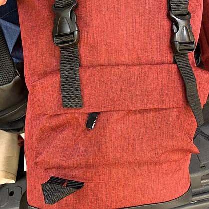 Рюкзак  Мужской красный-черный, Рюкзак для ноутбука, фото 2