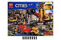 """Конструктор Bela 10876 (Аналог Lego City 60188) """"Зона горных экспертов"""" 919 деталей"""