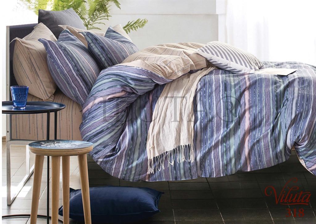 Комплект постельного белья Viluta сатин 318