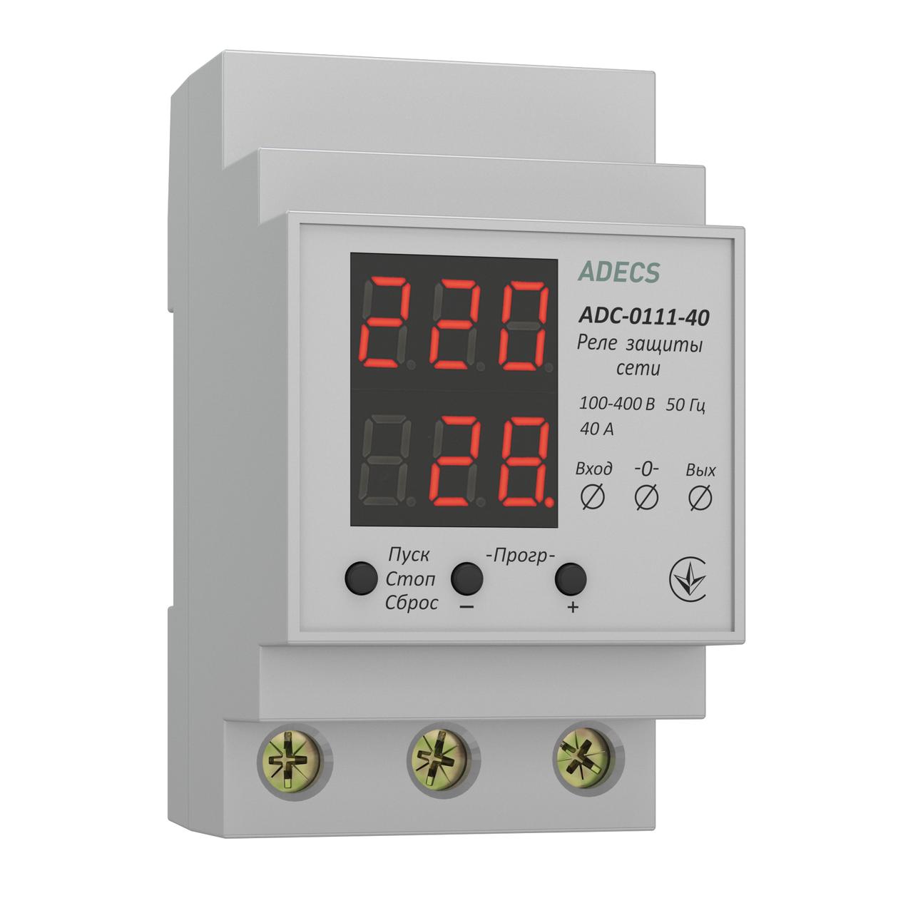 Реле напряжения ADECS ADC-0111-40