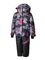 Комплект зимний на девочку: куртка и полукомбинезон. Лучше Lenne. 134 рост