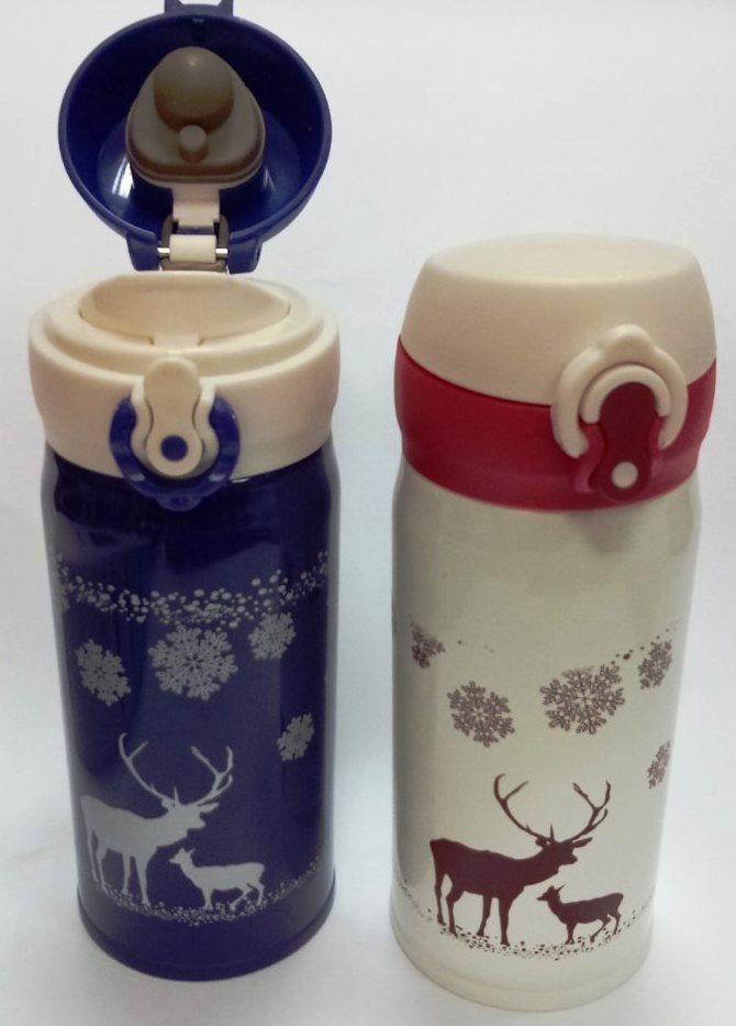 """Термос стальной """"Deer"""" 350 мл"""