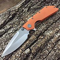 Нож Microtech Marfione Custom DOC (Реплика) оранжевый, фото 1