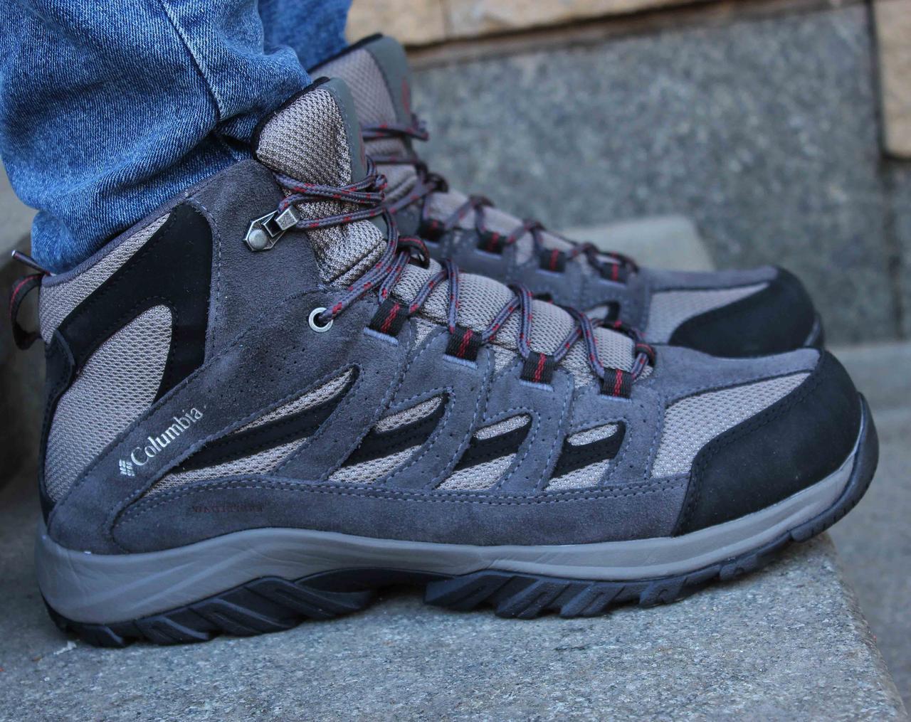 Оригинальные трекинговые ботинки Columbia Crestwood Mid Waterproof bm5371-052 42 размер