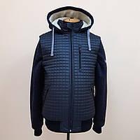 """Зимняя,мужская куртка """"ТNF"""" больших размеров.Replic-Design."""