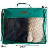 Набор органайзеров для путешествий 5 шт ORGANIZE (лазурь), фото 3
