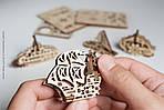 Фиджеты Корабли Набор из 4 шт | UGEARS | Механический 3D конструктор из дерева, фото 3