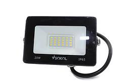 Світлодіодний прожектор LED-SLT - 20Вт Sokol