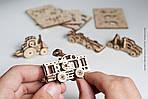 Фиджеты - Наземный транспорт. Набор из 4 шт   UGEARS   Механический 3D конструктор из дерева, фото 3