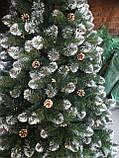 Ель искусственная с шишками и калиной 1,8 м, фото 4