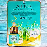 Увлажняющая тканевая маска с алоэ Malie Aloe Ultra Hydrating Essence Mask 25мл