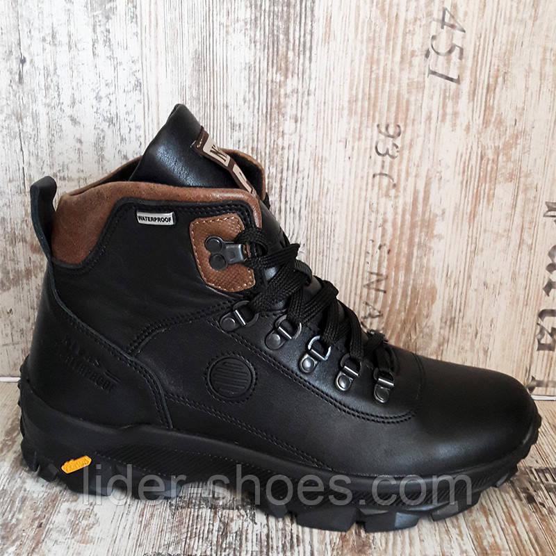 Ботинки мужские зимние на шнуровке