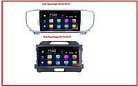 Штатная магнитола KIA Sportage 2010-15 2016-2019 Android 8 Киа спортаж