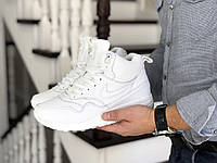 Зимние мужские кроссовки Nike 8550 белые, фото 1