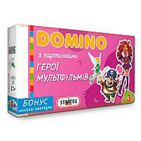 """Домино  """"Герої мультфільмів"""" 679 """"Strateg"""""""