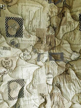 """Двуспальное одеяло на овчине """"№521"""" (172х205), фото 2"""