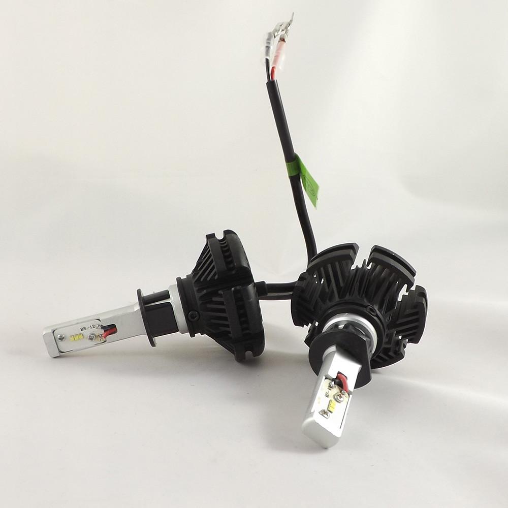 LED Лампы H1 6500K 50W  X3 Philips  (Led автолампы с активным охлаждением и ip67)+ПОДАРОК!