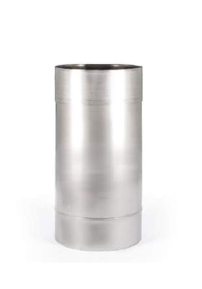 Труба L=0,3м одностенная из нержавеющей стали